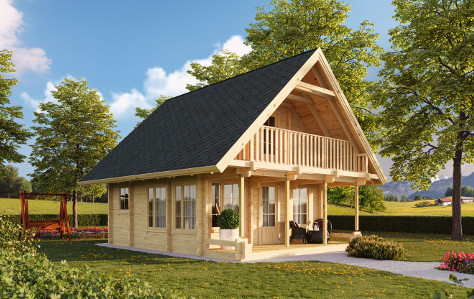 Garden houses, summer houses, saunas, log cabins